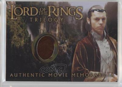 2004 Topps Chrome The Lord of the Rings Trilogy ELRR Elrond's Rivendell Robe s2w