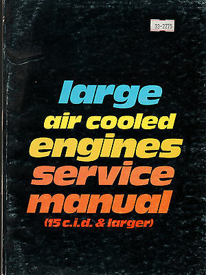 Intertech Large Air Cooled Engines Service Manual 15 C.i.d. & Larger 2Nd Ed.