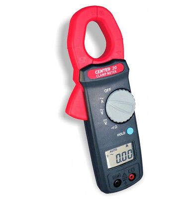 H● CENTER 20 Clamp Meter 3 3/4 Digital liquid Crystal (LCD) Maximum Reading 3999
