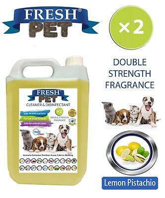 Fresh Pet pet Disinfectant Double Strength  - 5L Lemon Pistachio