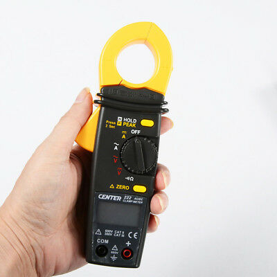 H● CENTER 222 Low Cost Mini AC/DC Clamp Meter