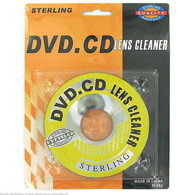 72 DVD/CD Lens Cleaners