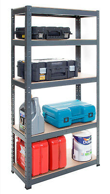 Shelving Unit 5 Tier Racking Shelf Storage 150x70x30cm 175kg Garage Shelves