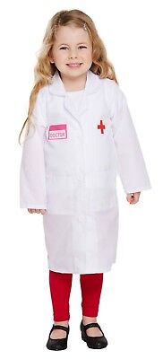 Toddler Doctor Chids Fancy Dress Dressing Up World Book Day Outfit Age 3 New