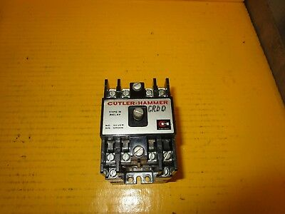 Cutler Hammer Latched Relay D23Mr802 Type M Ser A2 120V Coil