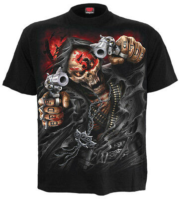SPIRAL DIRECT 5FDP ASSASSIN Officially Licensed Five Finger Death Punch T-Shirt