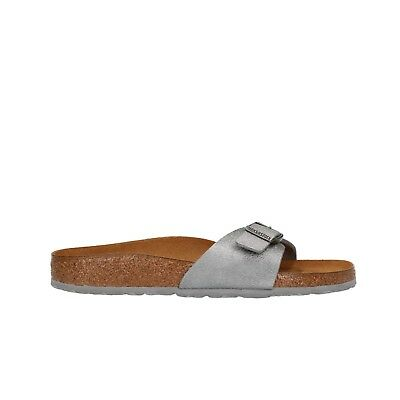 BIRKENSTOCK MADRID ciabatte grigio sandali donna animal fascination mod.  1008638 77aa68c78a4