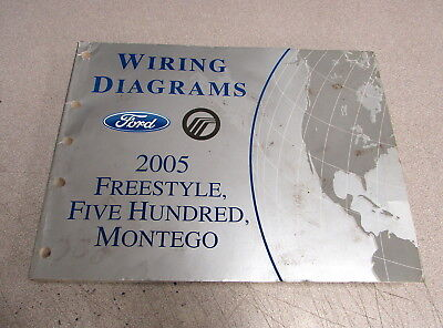 2006 ford freestyle montego 500 five hundred service manual set dvd rh picclick com 2008 Ford F-250 Fuse Box Diagram 2007 Ford Freestyle Fuse Box Diagram