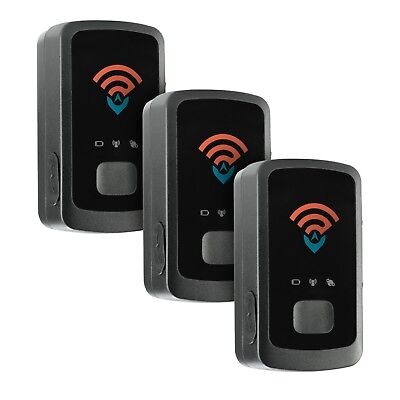 Spy Tec GL300 Mini Portable Real Time Vehicle GPS Tracker - Pack of 3