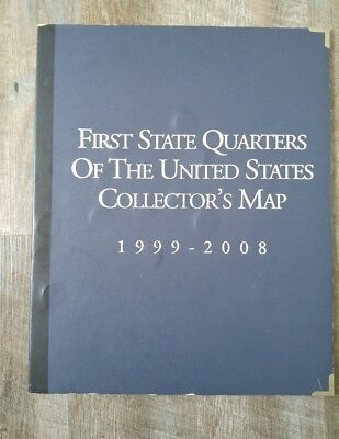 Us state quarters collector map