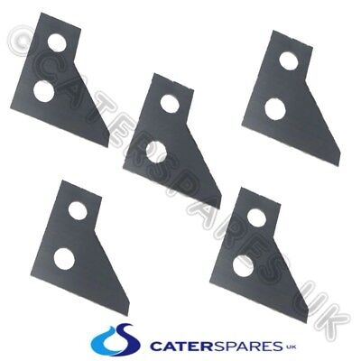 5 X Hobart Potato Chip Chipper Cutting Blades Sharp Stainless Steel Knives