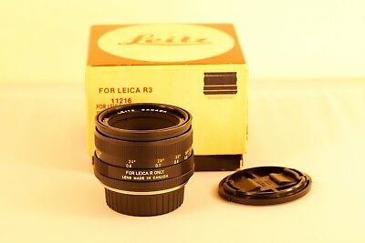 Leica R 50 Summicron F2 50 1:2 50/2 *EXC* *Special serial number*