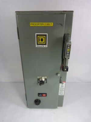 Square D 8538-SBG13 Combination Starter 30AMP 120VAC 60HZ ! WOW !