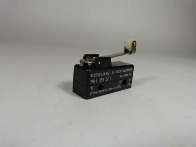 Kissling PB1-351-301 Snap Action Switch ! WOW !