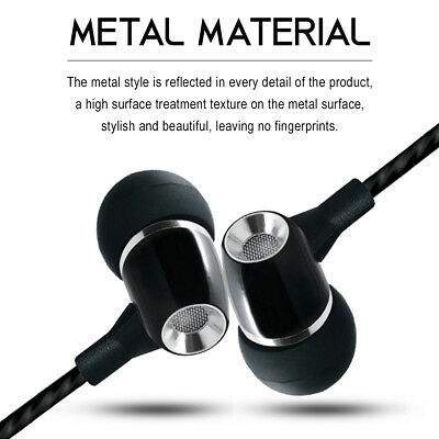 Wired Headphones | 3.5MM Earbuds Earphones In-Ear Stereo Headset With Microphone