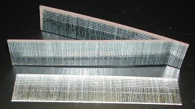 "18 guage Finish Brad Nails 5000/bx Galvanized Chisel Point 1/2"" long"