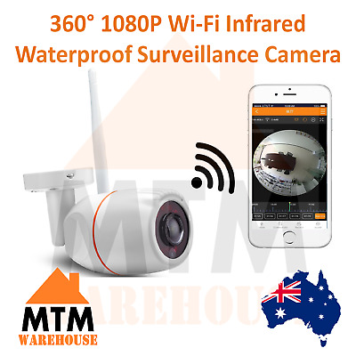 High Definition HD 360 Degree 1080P Wireless Panoramic Outdoor Waterproof Camera