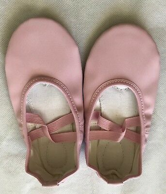 Pink Color Toddler/Girls PU Split Sole Ballet Dance Shoes Fitness Shoes