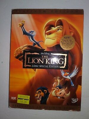 The Lion King DVD 2-Disc Set Platinum Edition Features an All-New Song Disney