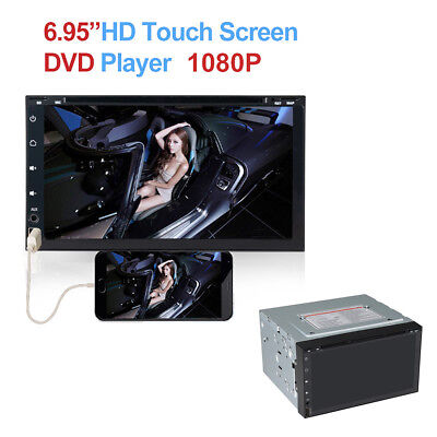 2 Din DVD Bluetooth Stereo Multimedia Player WINCE System DVD Disc Hands-free