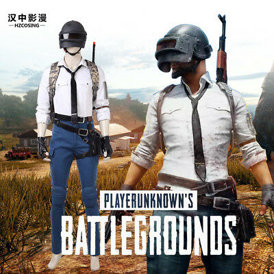 HZYM PUBG Playerunknown's Battlegrounds Cosplay Costume Full Set Custom Made