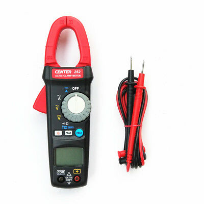 H● CENTER 252 AC/DC Clamp Meter (True Rms)