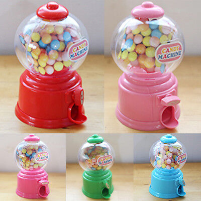 mini candy bubble dispenser machine coin bank toy for children birthday gift