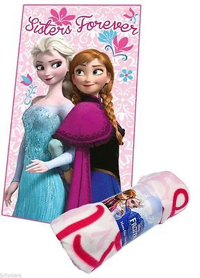 FROZEN Manta polar HERMANAS FOREVER Elsa Anna Regalo Disney