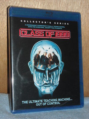 Class of 1999 (Blu-ray Disc, 2018) NEW Stacy Keach young gang violence sci-fi