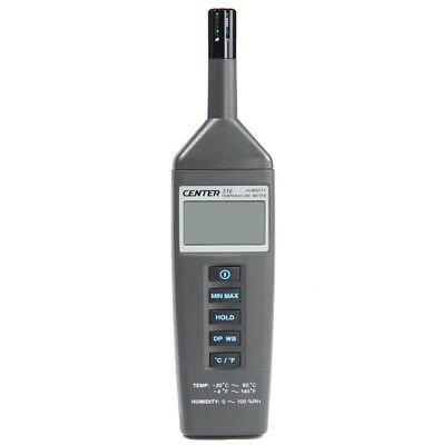 H● CENTER-316 Digital Temperature Humidity Meter