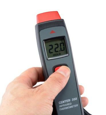 H● CENTER358 IR Infrared Thermometer Infrared Temperature Meter -18°C ~ 315°C