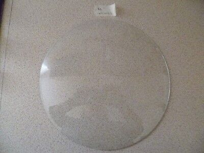 "10"" Concave Clock Glass"