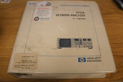 HP/Agilent 8754A Network Analyzer Ops and Service Manual  Loc: 410
