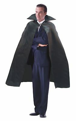 Adult Vampire Dracula Cape Collar Halloween Fancy Dress Costume Outfit Cloak