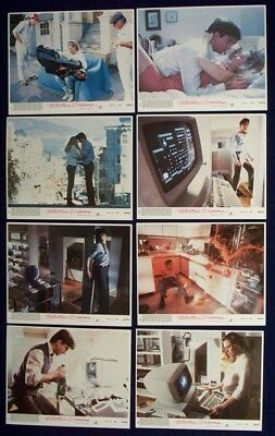 Electric Dreams Original Mint Lobby Card Set Of 8 1984
