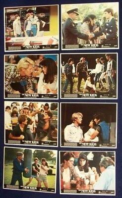 The New Kids Original Mint Lobby Card Set Of 8 1984 James Spader