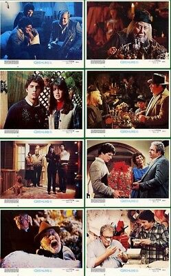 Gremlins Original 11X14 Mint Lobby Card Set Of 8 1984 Phoebe Cates