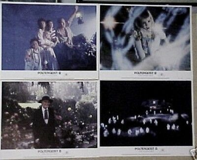 POLTERGEIST 2 ORIGINAL MINT 11x14 LOBBY CARD SET 1986 II