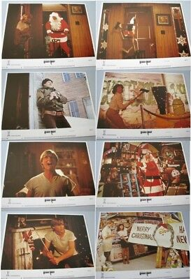 Silent Night Deadly Night Original 11X14 Lobby Card Set Of 8 1984