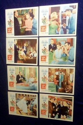 Love Is A Ball Original 11X14 Lobby Card Set Of 8 1963 Glen Ford Hope Lang