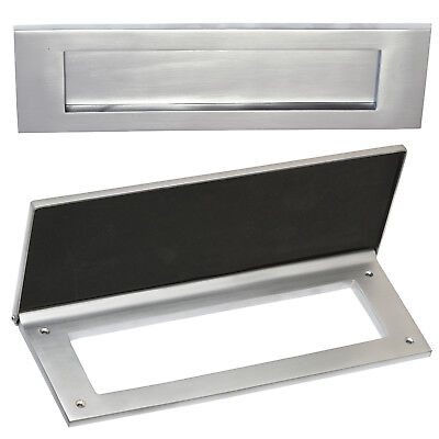 "Letter Box Plate / Draught Excluder - 12"" x 4"" 