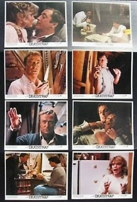 DEATHTRAP ORIGINAL MINT UNUSED 11x14 LOBBY CARD SET 1982 DEATH TRAP