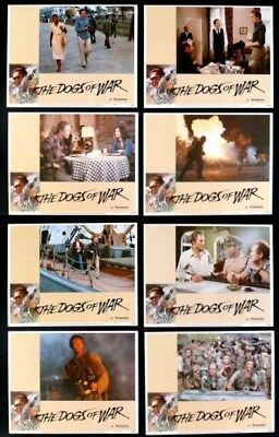 Dogs Of War 11X14 Mint Lobby Card Set 1981