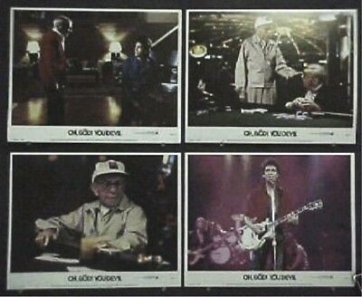 Oh God You Devil Original Mint 11X14 Lobby Card Set 1984