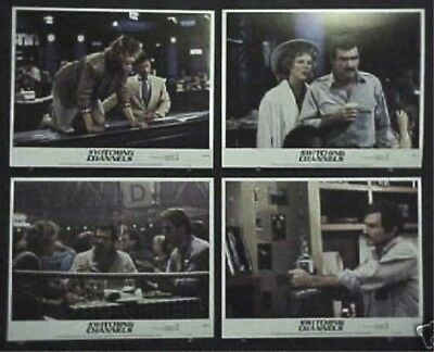 Switching Channels Original Mint 11X14 Lobby Card Set 1988