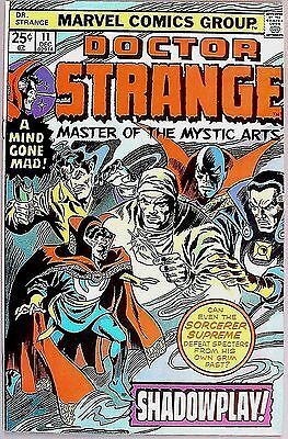 Doctor Strange #11 Marvel December 1975 Shadowplay! Very Fine Condition