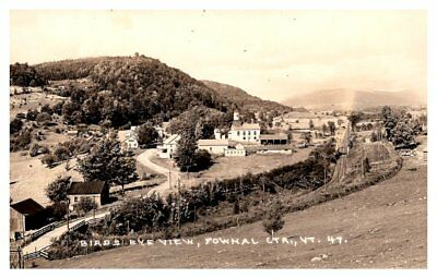Aerial View of Pownal Center,  Vermont , RPC
