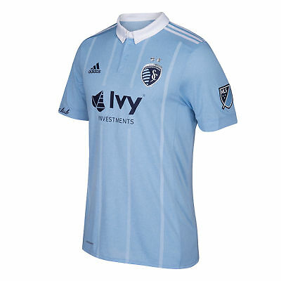 Sporting Kansas City Authentic Football Home Shirt 2018 Mens