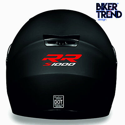 BMW S1000 RR HELMET KIT Decal Sticker Detail-Best Quality-Many Colours