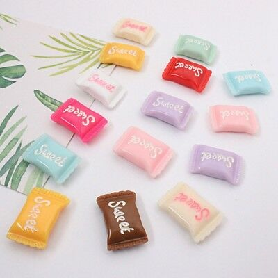 Lot of 5PC Candy Color Sweets 3D Fridge Magnet Resin Note Posted Sticker Newest